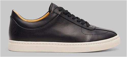 Sneaky Steve Svarta Sneakers Herr