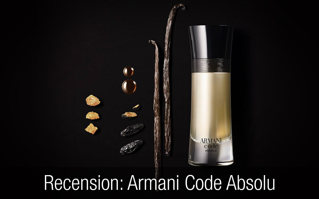 Armani Code Absolu Recension Herrparfym