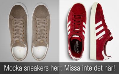 Mocka sneakers herr. Snygga sneakers du INTE får missa!