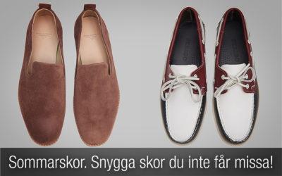 Sommarskor herr. Snygga skor du inte får missa!