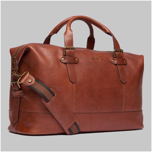 Weekendbag skinn herr Morris