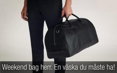 Weekend bag herr. En väska du måste ha.