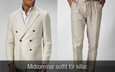 Midsommar outfit för killar. Klä dig snyggt till midsommarafton!