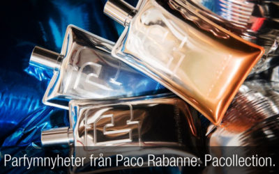 Parfymnyheter från Paco Rabanne: Pacollection.