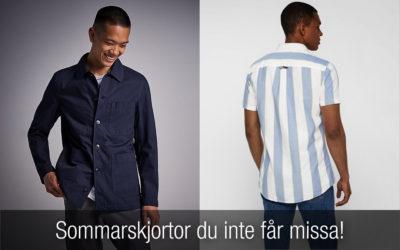 Ny sommarskjorta? Här har du 12 riktigt snygga herrskjortor!
