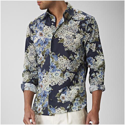 Sommarskjorta herr