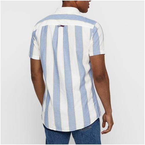 sommarskjorta herr Tommy Jeans