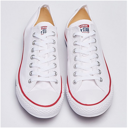 Vita sneakers herr Converse all star ox