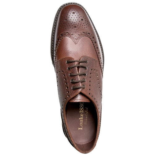 Brogue skor herr Loake