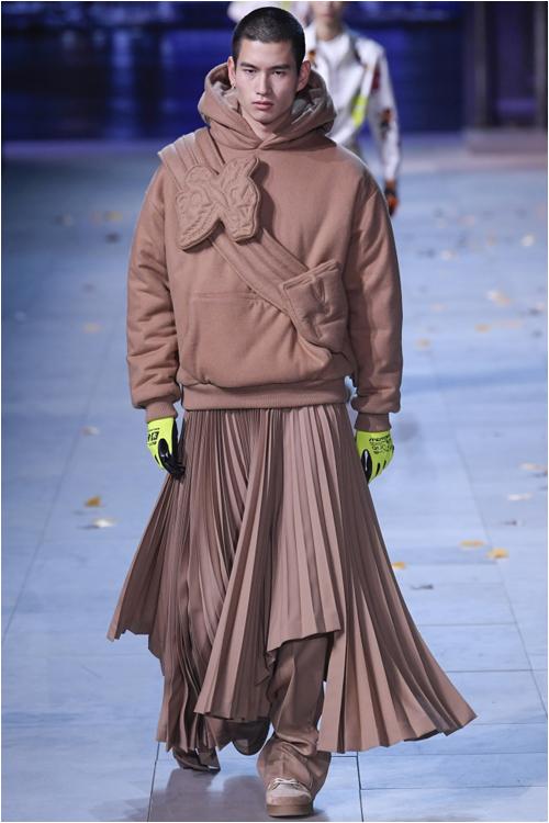 Herrmode höst 2019 Kjol Herr Louis Vuitton