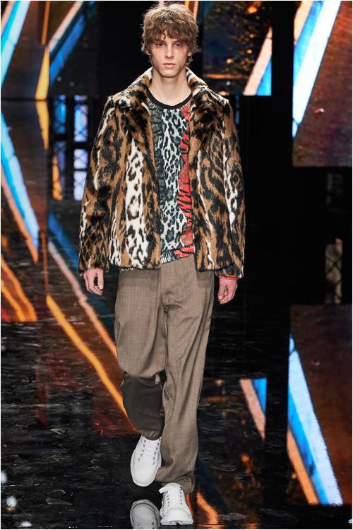 Herrmode 2019 höst: Leopardmönstrad jacka från Neil Barret