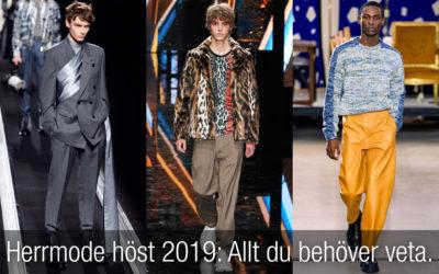 Herrmode höst 2019 – allt du behöver veta om höst och vinter 2019!
