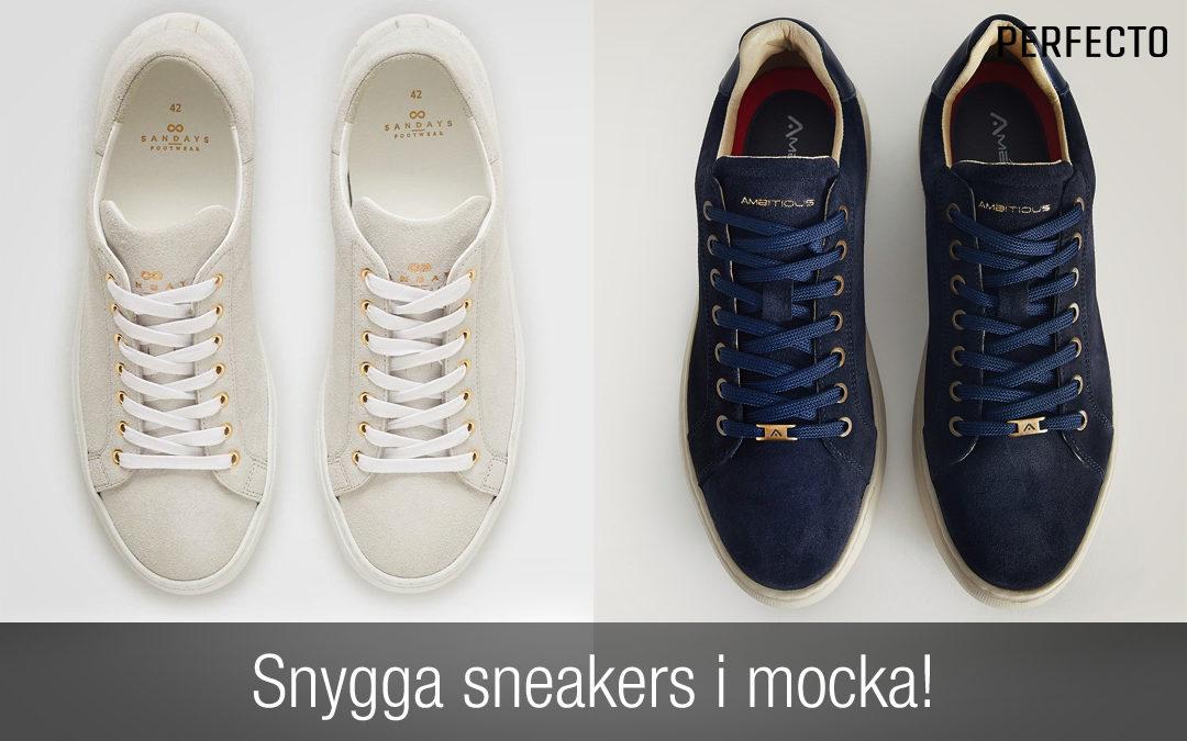 Mocka sneakers herr
