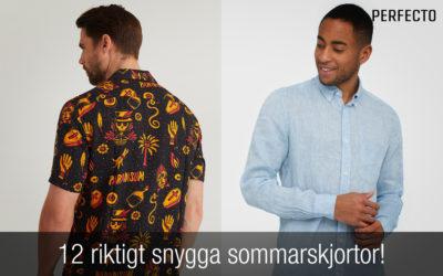 Ny sommarskjorta för 2020? Här har du 12 riktigt snygga herrskjortor!