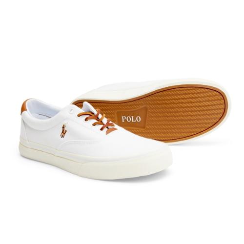 Vita sneakers herr Ralph Lauren