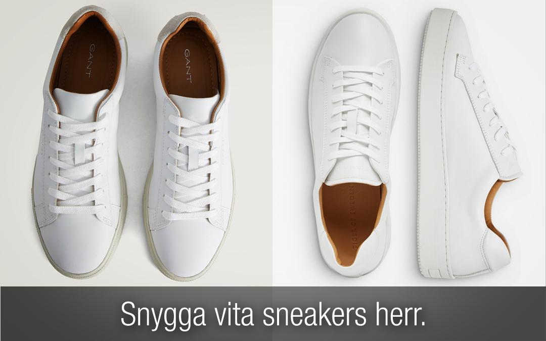 vita sneakers herr 2019