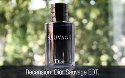 Recension herrparfym: Dior Sauvage EDT.