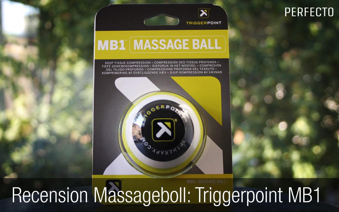 Massageboll recension: Trigger Point Therapy MB1 Trigger Massage Ball