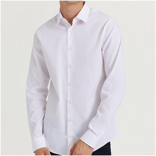 snygg vit skjorta herr