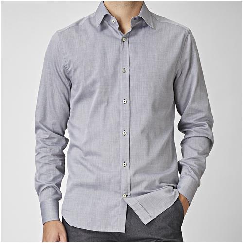snygg herrskjorta grå