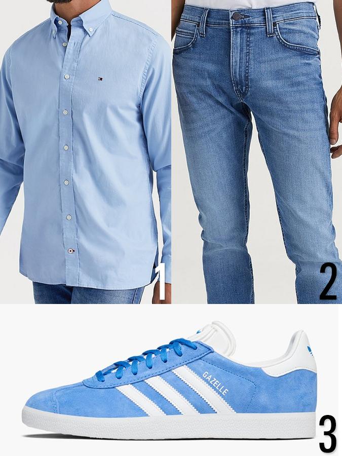 Tonad klädsel outfit herr 2