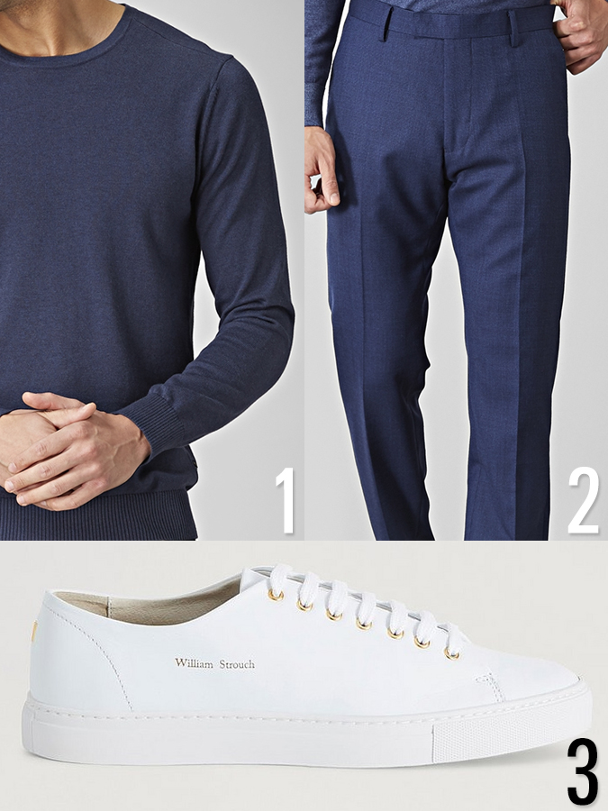 Outfit herr 3 - ton i ton