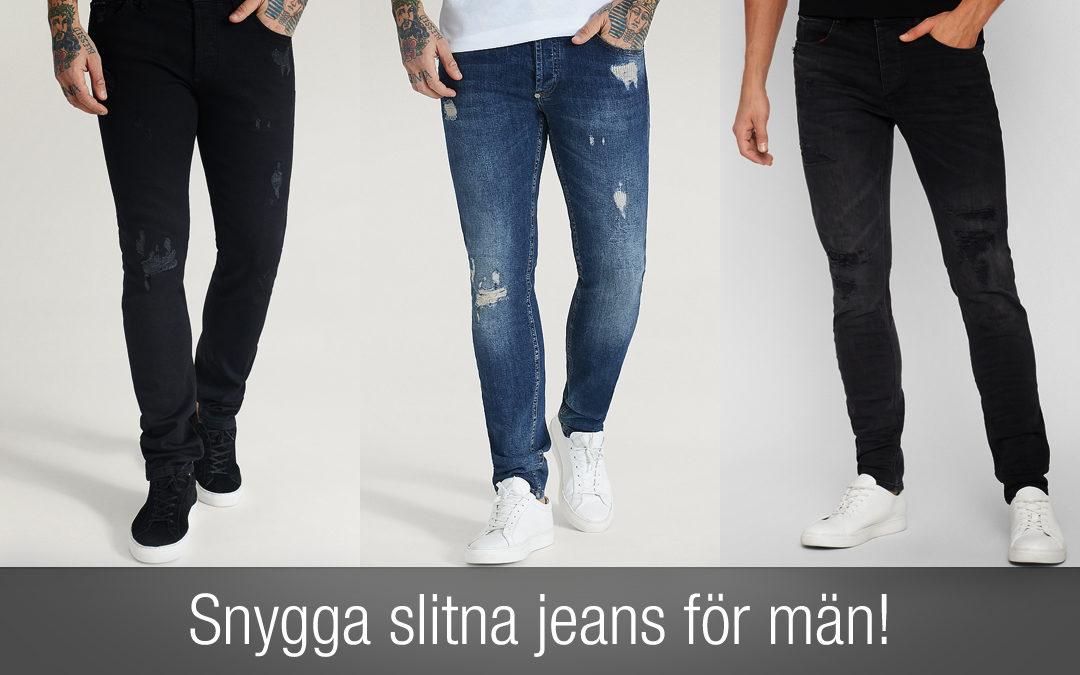 Slitna jeans herr – den BÄSTA listan på snygga slitna jeans! Nyheter för 2020.