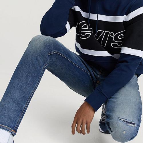 Slitna jeans från Nudie Jeans