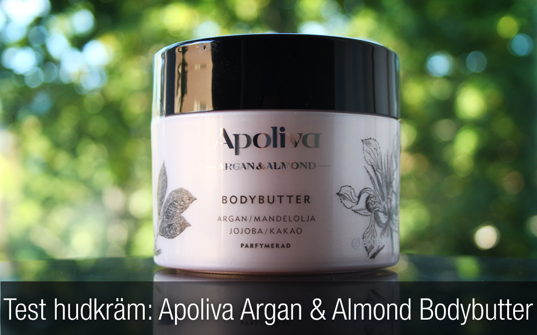 Test kroppssmör: Apoliva Argan & Almond Bodybutter