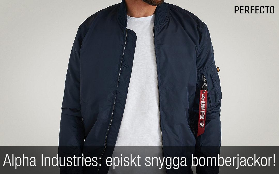 Alpha Industries bomberjacka herr