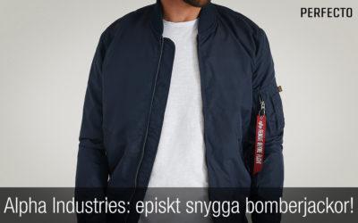 Alpha Industries bomberjacka herr. Episkt snygga bomberjackor.