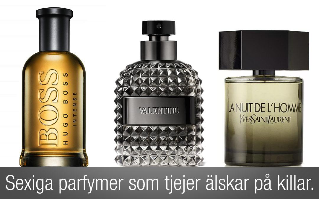 Sexiga parfymer som tjejer älskar på killar.