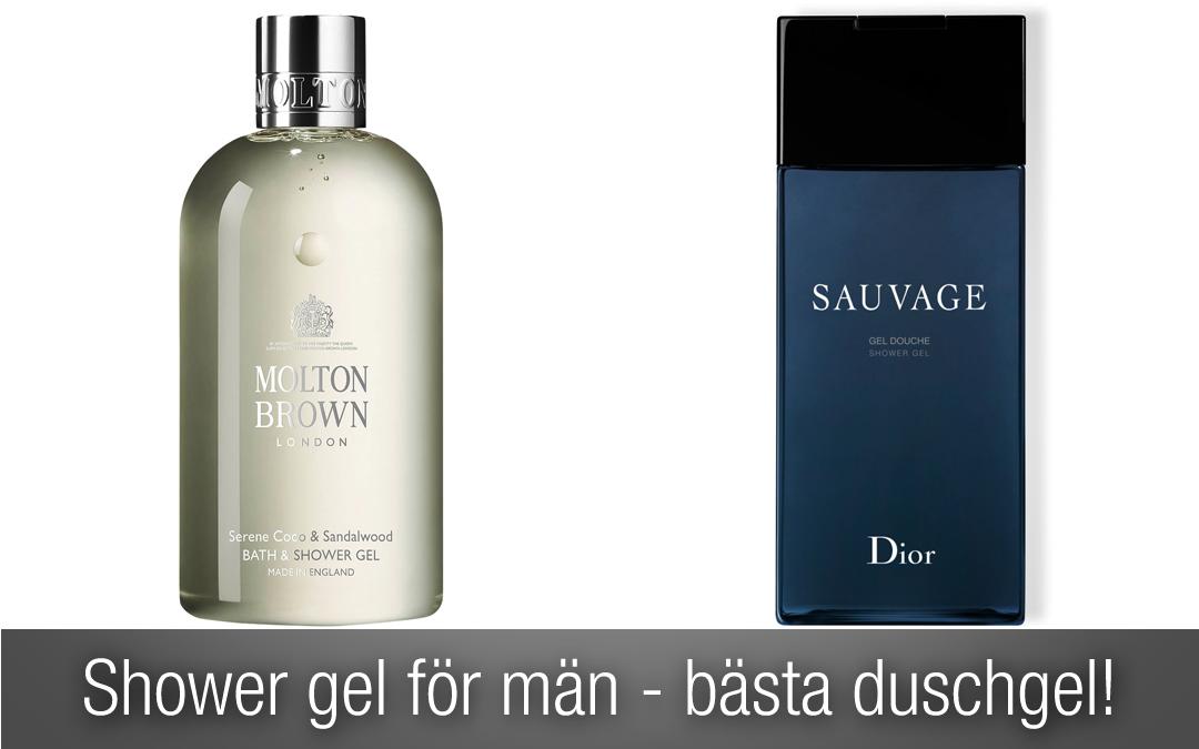 Shower gel för män – topplista över bästa duschgel!
