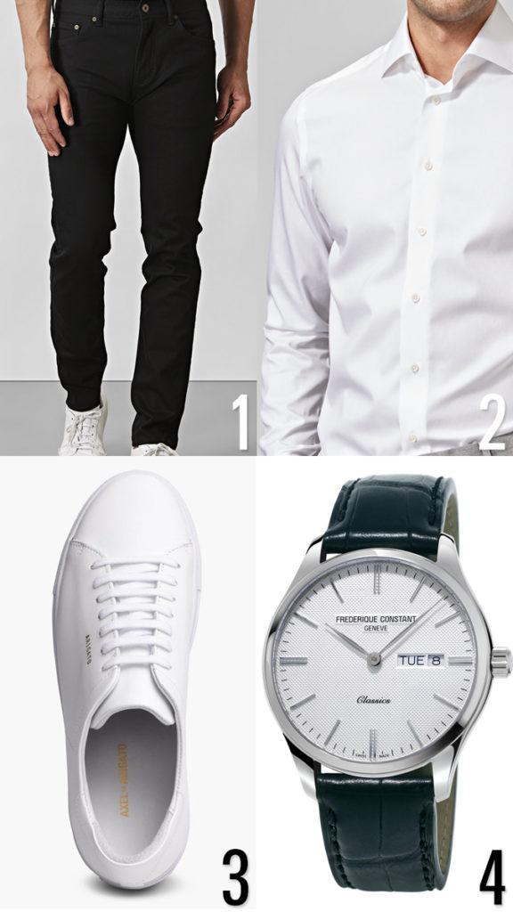 Snygg outfit för killar - för dejten