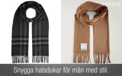 Halsduk herr 2020 – snygga halsdukar för män med stil!