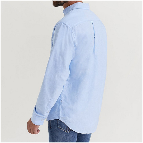 Ljusblå herrskjorta NN07
