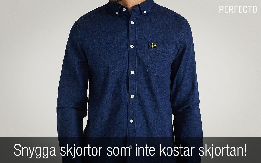 11 Snygga skjortor som inte kostar skjortan.