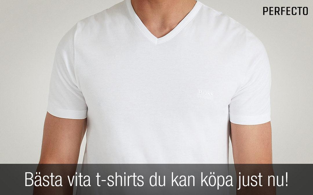 Bästa vita t-shirts du kan köpa just nu! Snygga t-shirts du inte får missa!