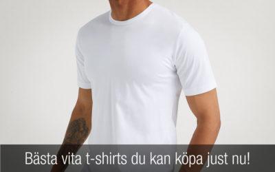 Bästa vita t-shirts du kan köpa just nu!
