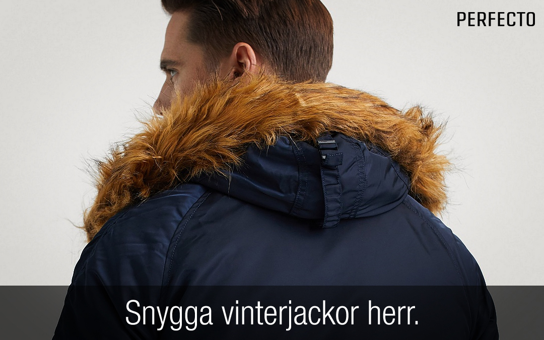 Fina Varma Vinterjackor | Vinterjacka Med Päls Herr