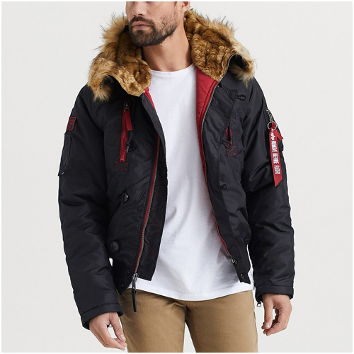vinterjacka herr Alpha industries