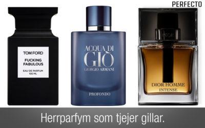 Herrparfym som tjejer gillar! Listan på parfymer som du INTE får missa!
