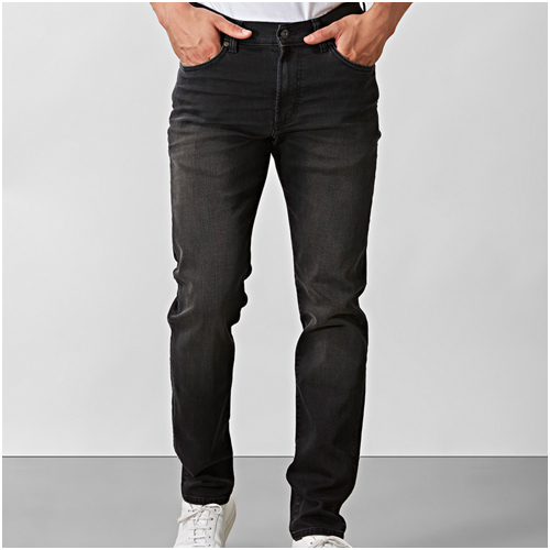 grå jeans herr