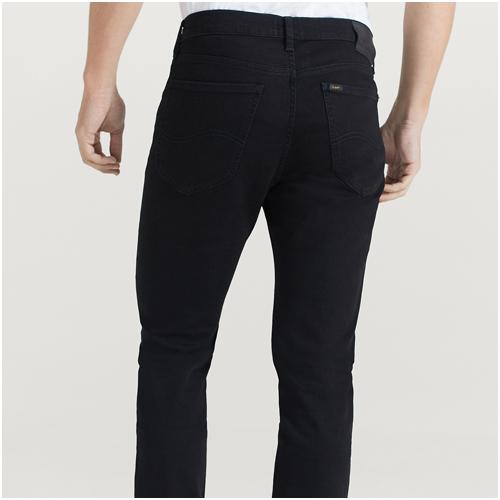 snygga svarta jeans herr
