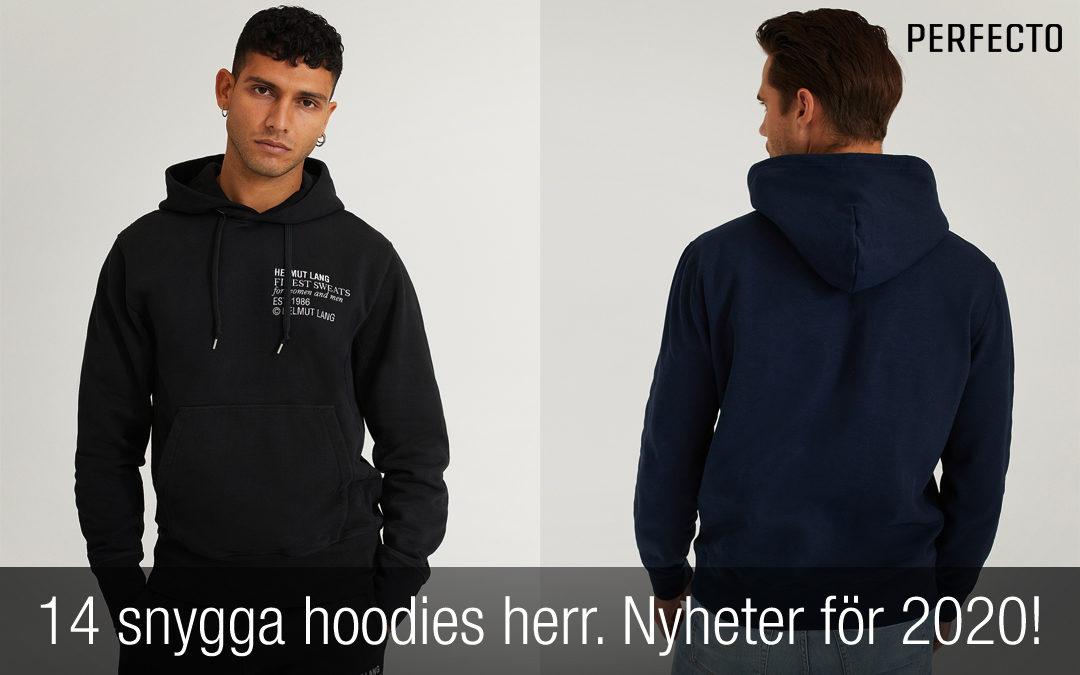 14 snygga hoodies herr snygga huvtröjor för killar 2020
