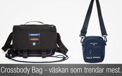 Crossbody Bag – den väska som trendar mest inom herrmode.