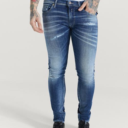 slitna jeans herr Replay
