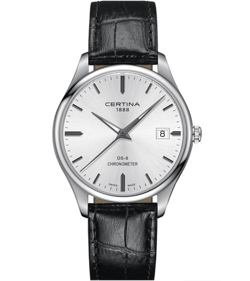 Snygg herrklocka Certina DS-8 Chronometer
