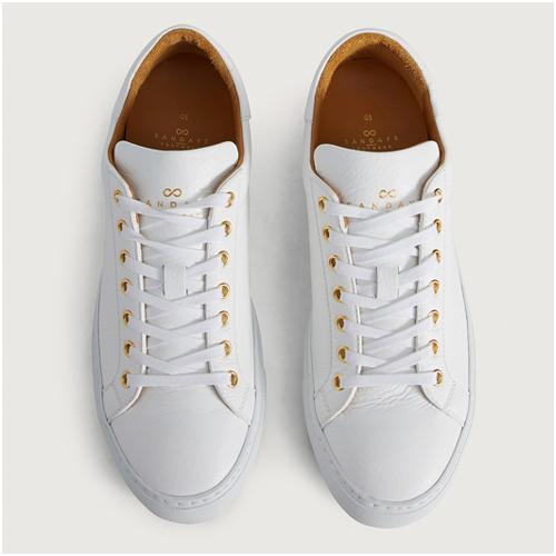 Vita sneakers herr Sandays