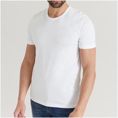 vit t-shirt herr